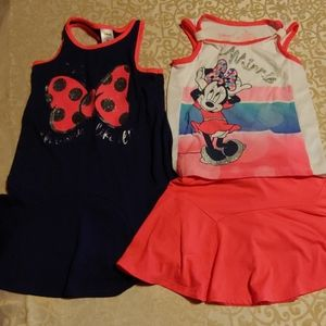 2 Minnie Mouse 4T outfits